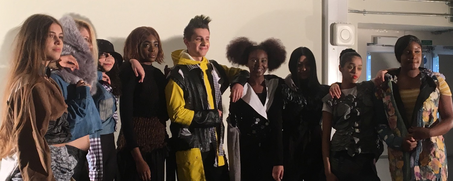 South Thames College Students collaborate with Wandsworth Oasis for end of term Charity Fashion Show
