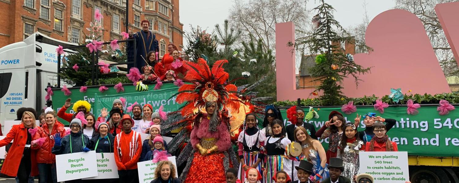 LNYD Parade - Wandsworth Float