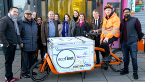 E-Cargo bike trial launches in Tooting